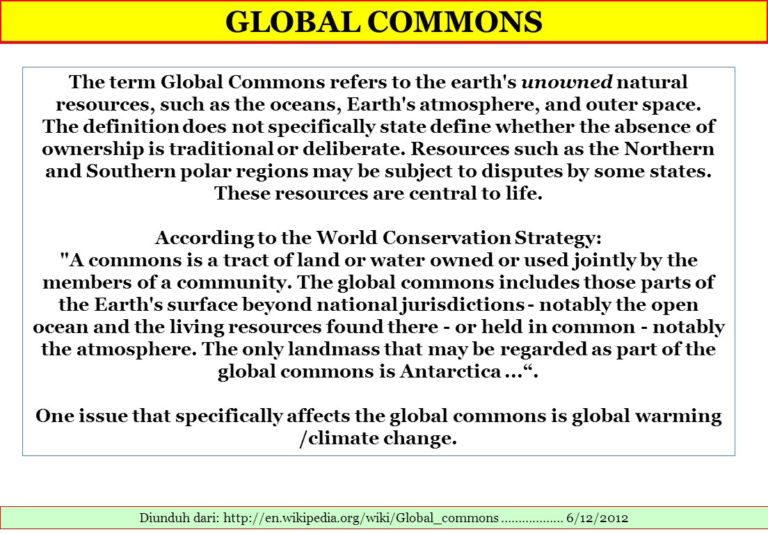 According to the World Conservation Strategy: