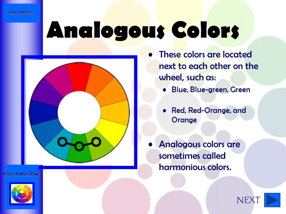 43 Color Schemes Analogous