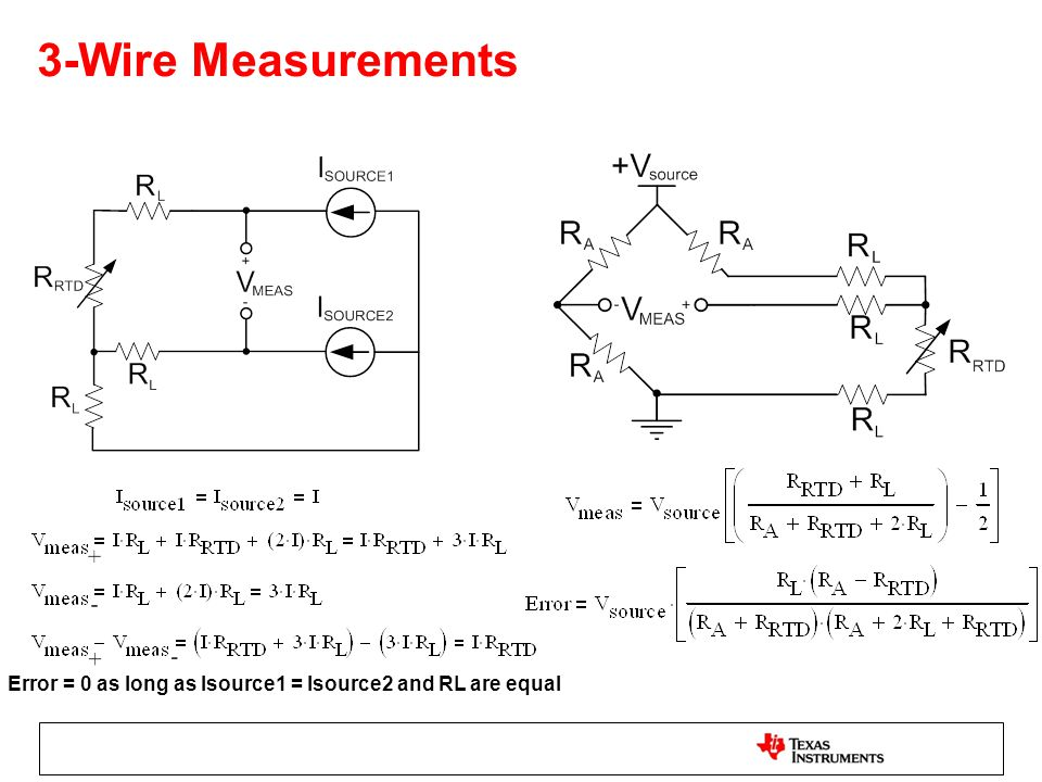 Signal Conditioning and Linearization of RTD Sensors - ppt download