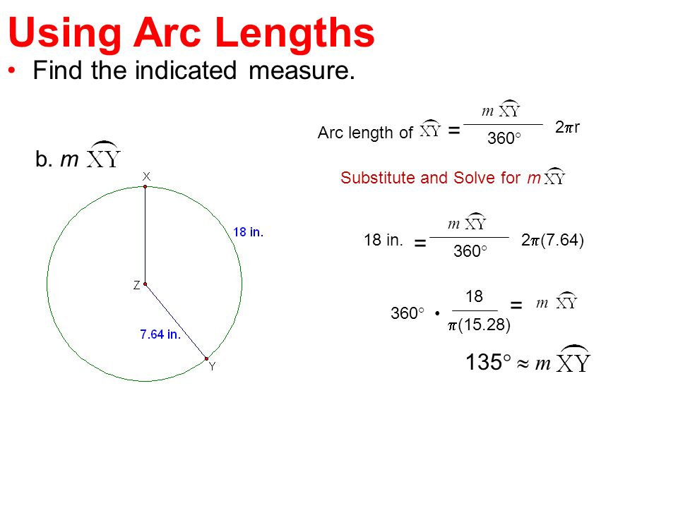 circumference and arc length ppt video online download. Black Bedroom Furniture Sets. Home Design Ideas