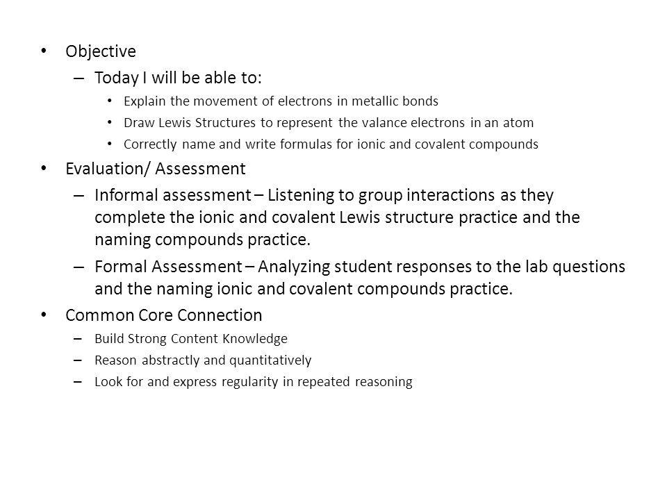 Evaluation Assessment ppt download – Lewis Structures Practice Worksheet