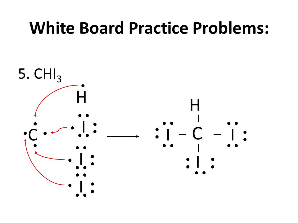 White Board Practice Problems: