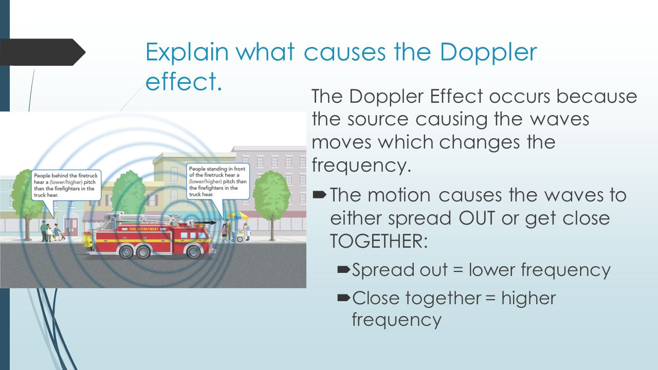 5.6: The Doppler Effect - Physics LibreTexts