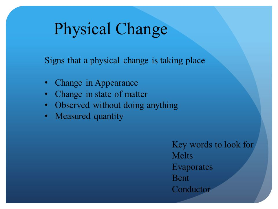 Physical and Chemical Changes - ppt video online download