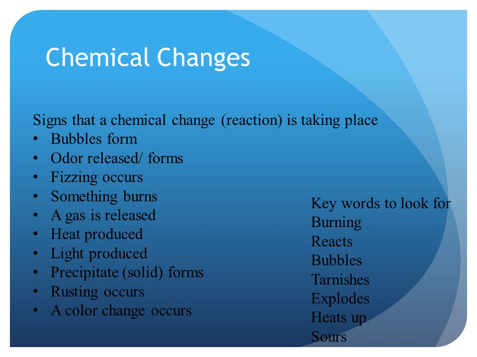 is burning paper a chemical change A change in which new materials form is called a chemical change ___ cutting paper chemical and physical changes.