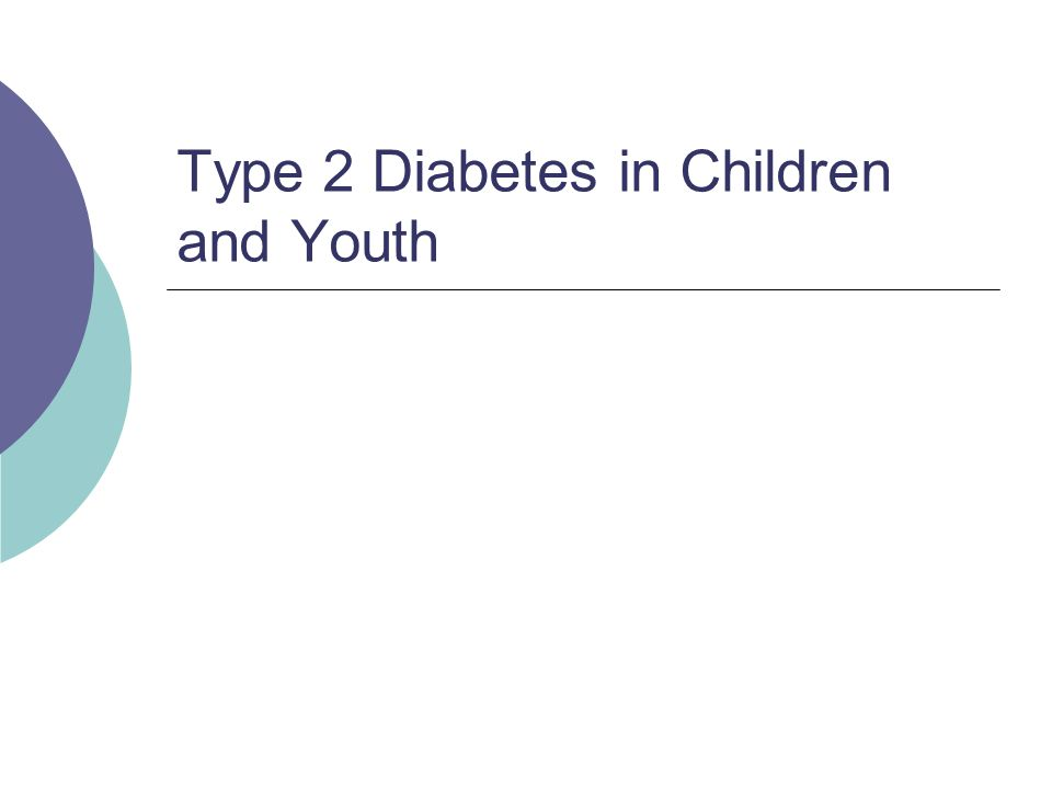 type 2 diabetes in youth From 2001 to 2009, both type 1 and type 2 diabetes increased significantly among american youth, according to new research the study, published in the may 7 child health issue of jama, analyzed data from more than three million children and teens up to age 19 from california, colorado, ohio, south .