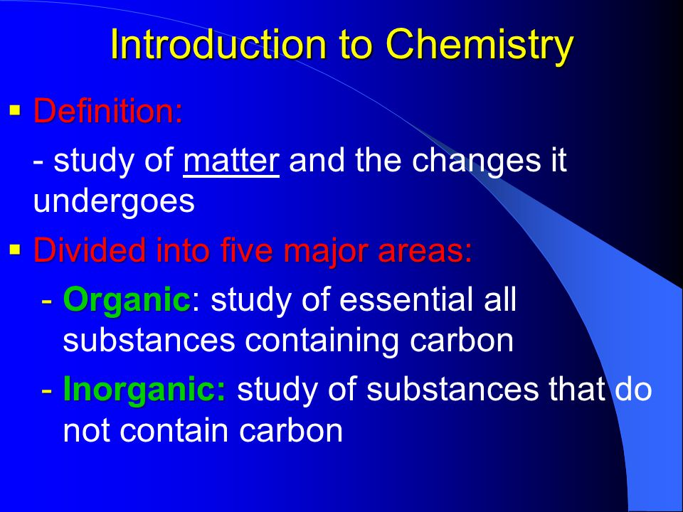 an introduction to the chemistry and a definition of chlorine 52 study guide for an introduction to chemistry e (1) two separate chlorine atoms in the stratosphere or (2) the chlorine, cl 2, molecule that can form when they collide separated atoms.