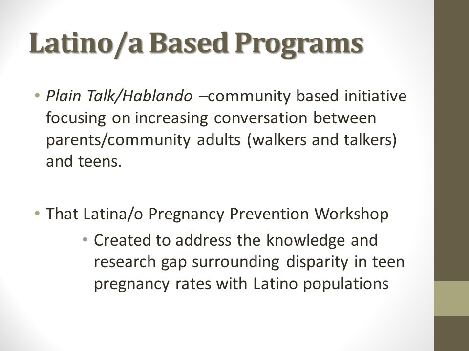 Social Policy & Services Taskforce on Teen Pregnancy - ppt ...