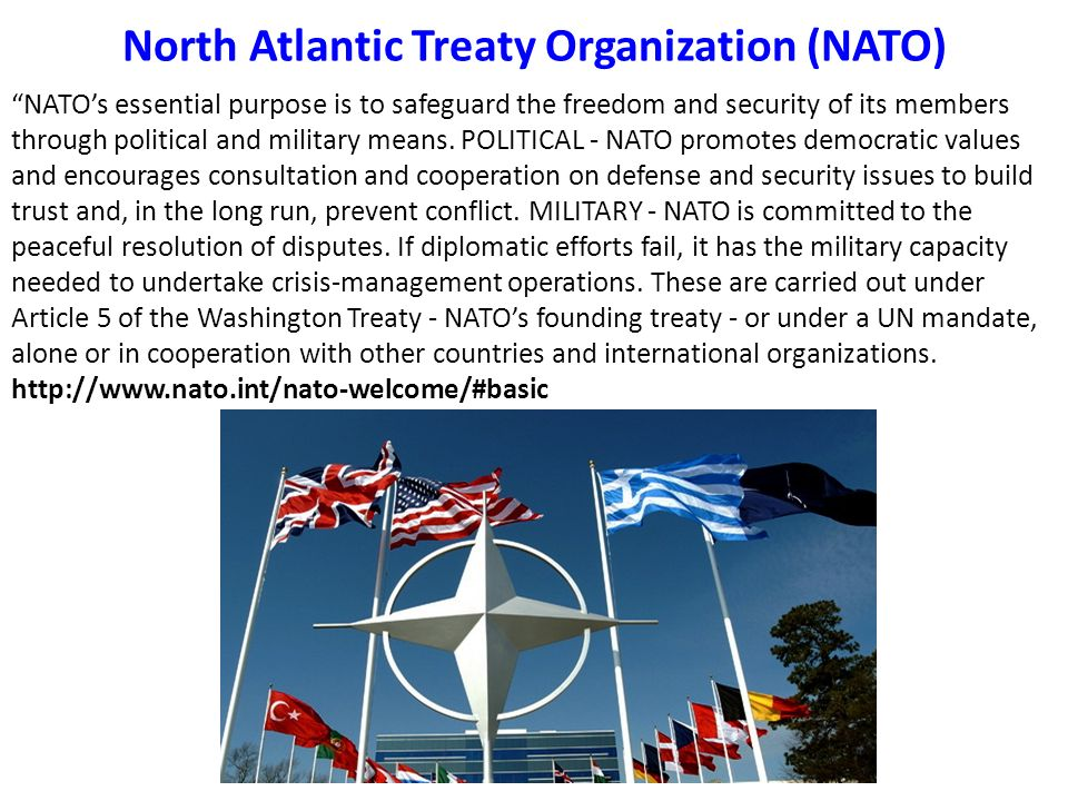 a history of the north atlantic treaty organization in the cold war The north atlantic treaty organization (nato) and the warsaw pact were two important cold war organizations describe their purpose and function as they - 8415530.