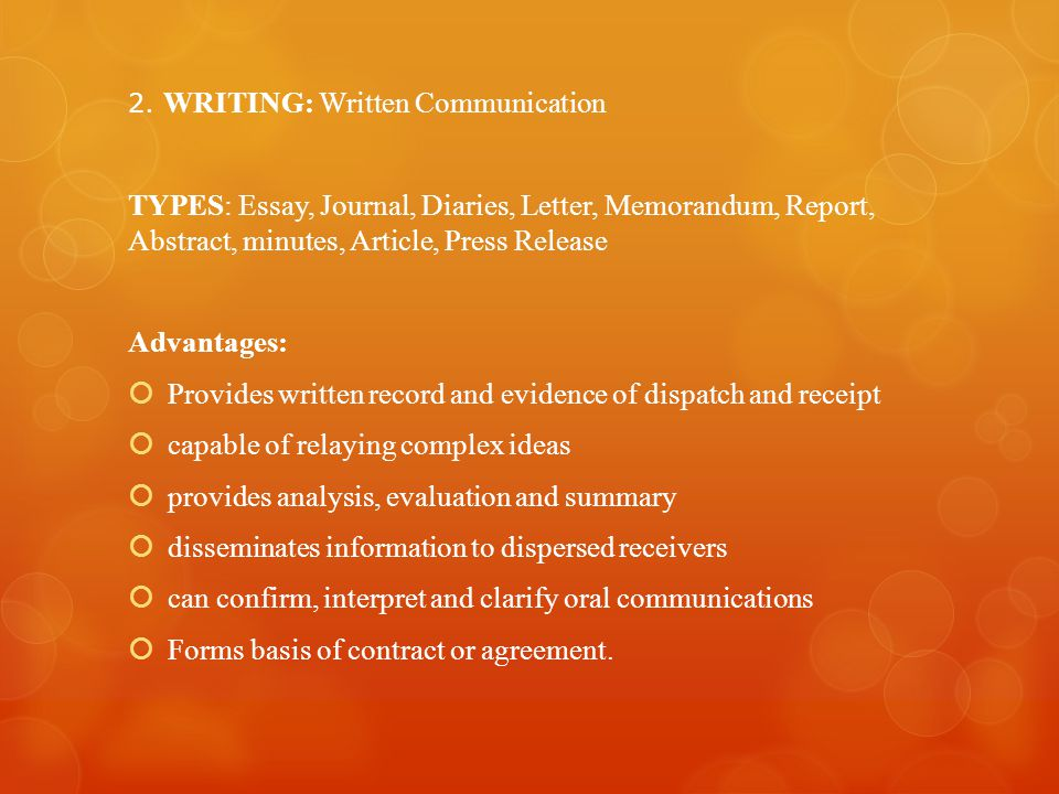 cape communication studies module types of speaking and writing  5 provides
