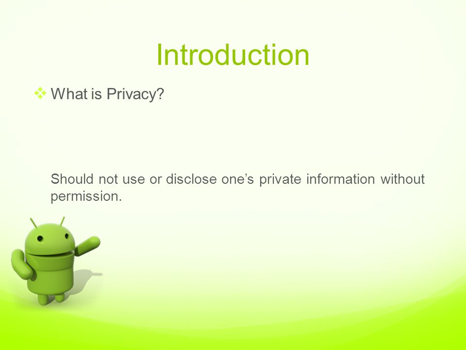 an introduction to the privacy issues on the internet Concerned about the privacy and security issues are limiting their  global  consistency on internet privacy protection is important to  introduction the  internet.
