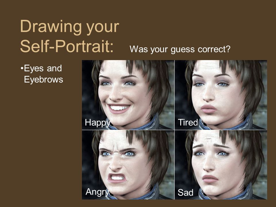 Drawing your Self-Portrait: