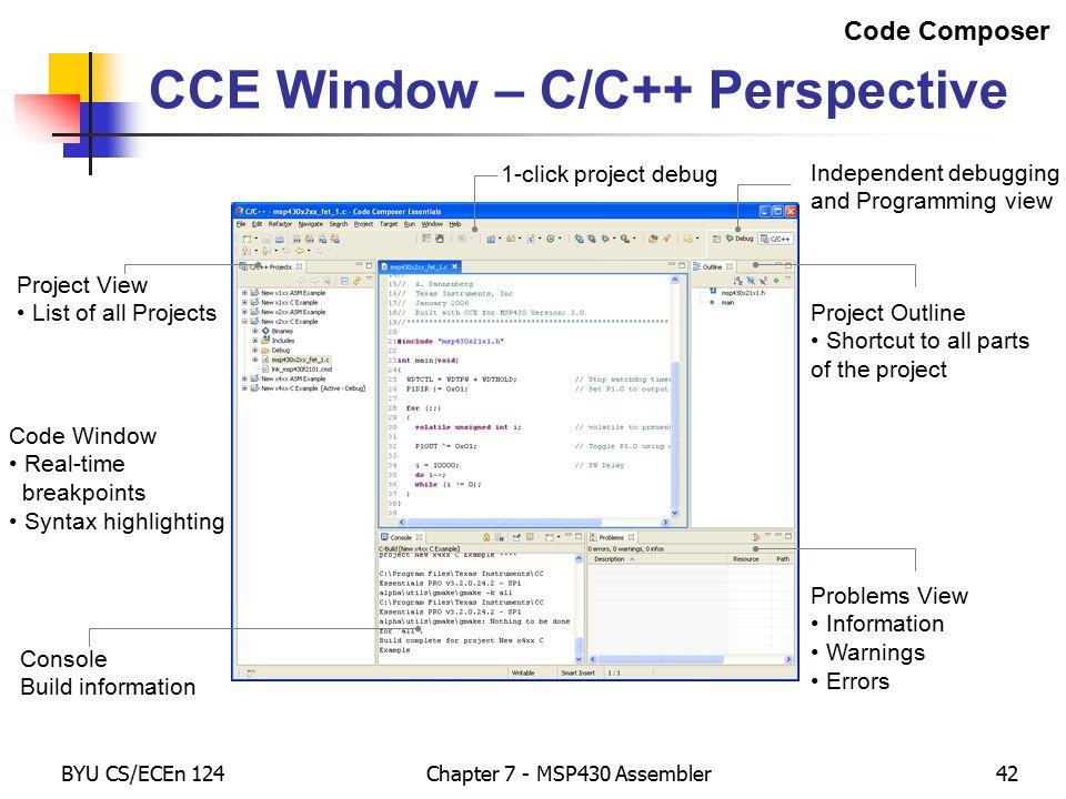msp430 programming in c pdf