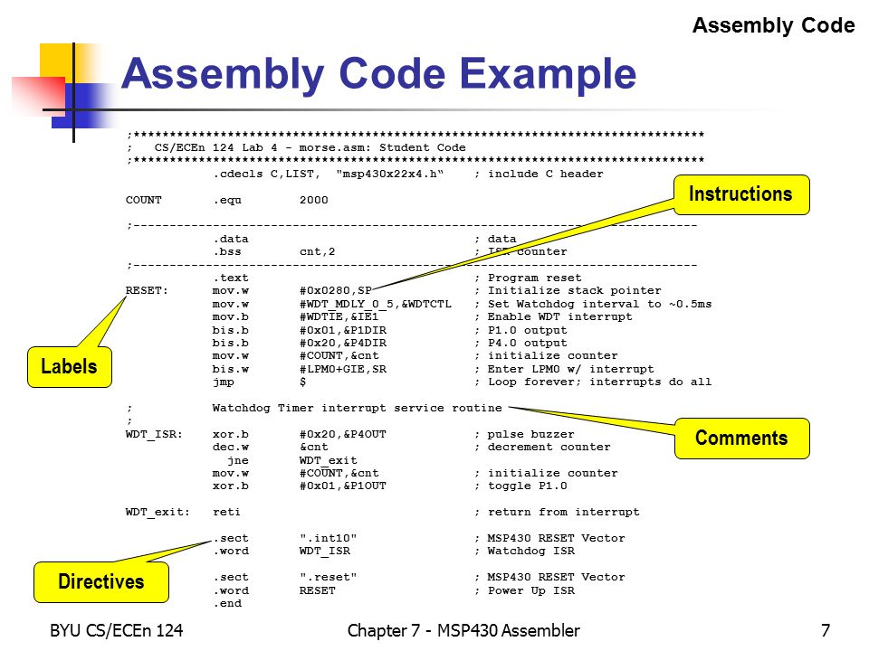 how do the assembler and linker Arm assembler in raspberry pi – chapter 1 january 9, 2013 roger ferrer ibáñez, 69 in my opinion, it is much more beneficial learning a high level language than a specific architecture assembler.