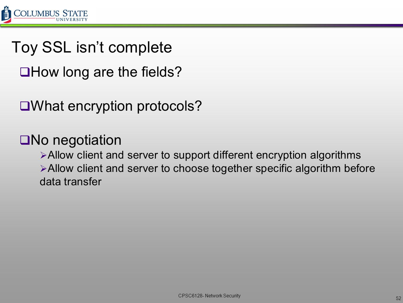 Network security cpsc6128 lecture 7 ikessl vpns ppt download toy ssl isnt complete how long are the fields xflitez Image collections