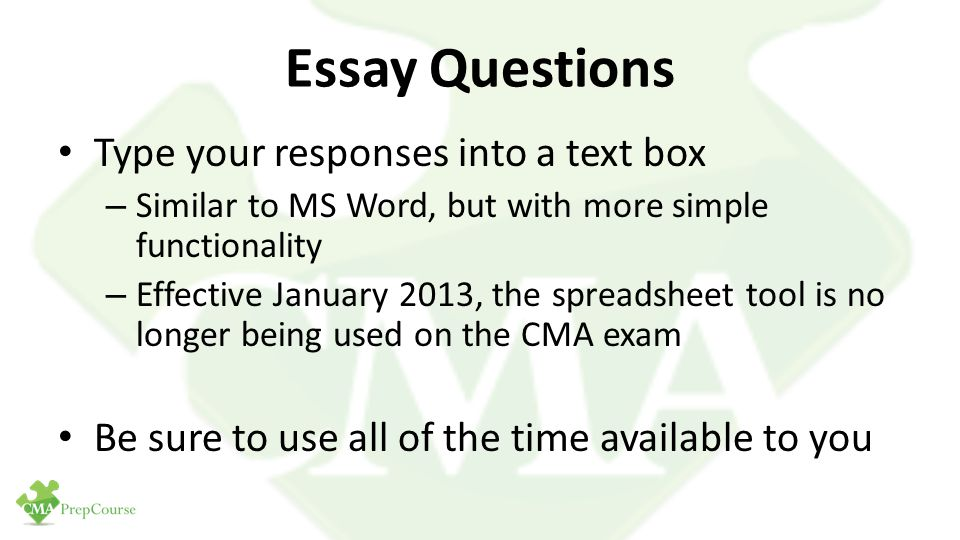 essay tipe questions