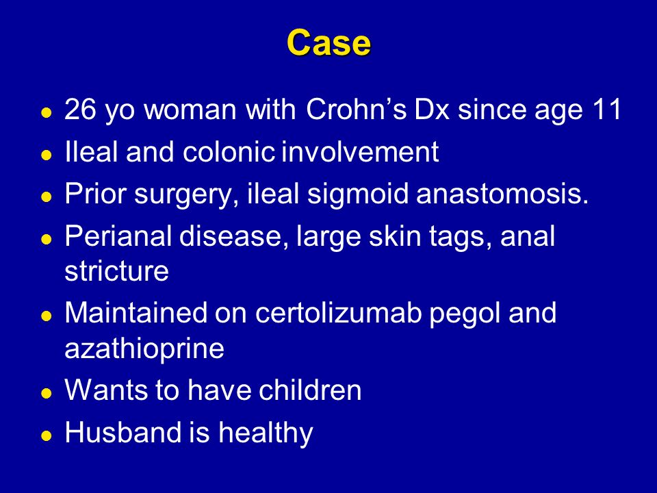 Pregnancy after colectomy