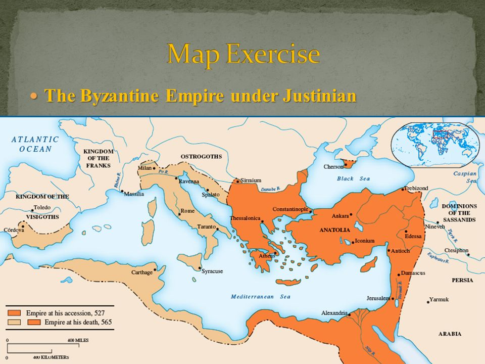 justinian and the byzantine empire Justinian expanded the byzantine empire through means of war and the  conquering other lands the additions of the former roman provinces of italia,  baetica,.