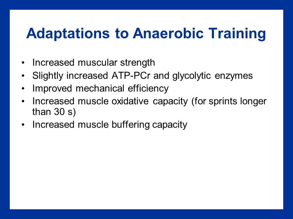 """advanced training anaerobic aerobic weight training Conversely, many contend that weight training performed on the same day as aerobic exercise blunts the endurance training response this phenomenon, known variously as """"muscle interference"""" or """"exercise antagonism,"""" is a frequent topic on fitness-related chat boards."""