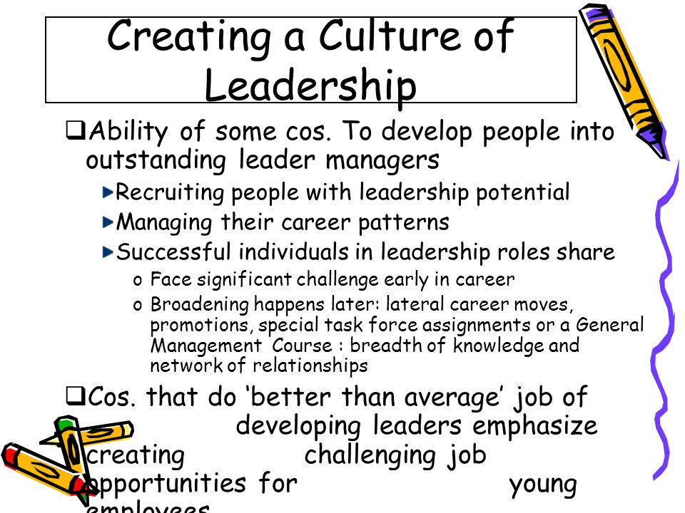how to develop into a leader