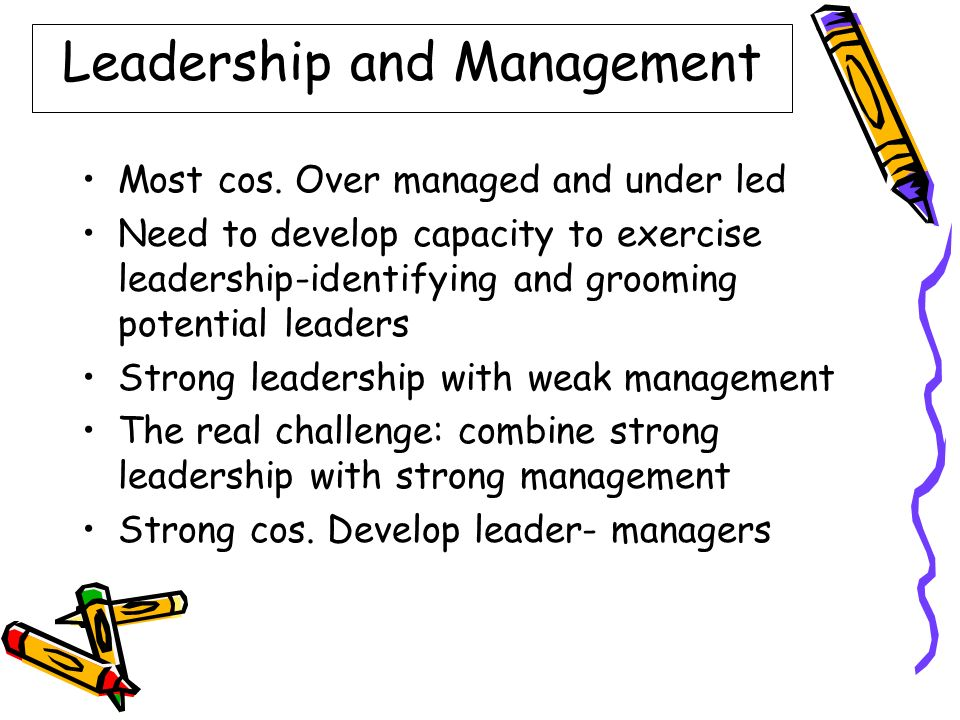 organisations need strong leaders and strong The effective organization: five questions to translate leadership into strong management organizations need to establish and communicate clear priorities.