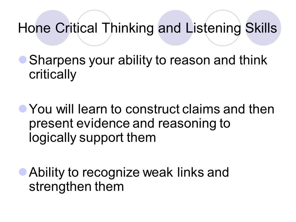 critical listening paper