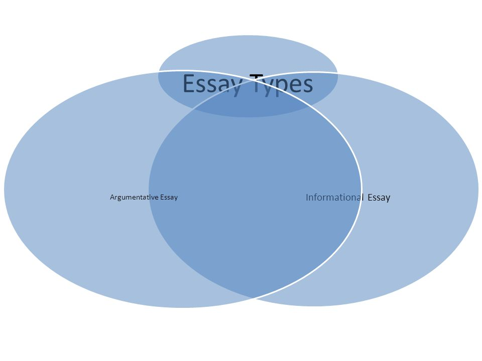 types of essay argumentative Argumentative essays are organized in many different ways, but one popular format is the five paragraph essay, which includes an introduction, three body paragraphs, and a conclusion the.