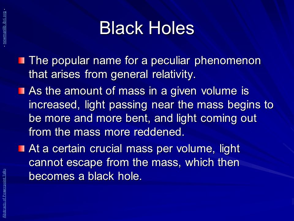 famous names of black holes - photo #42