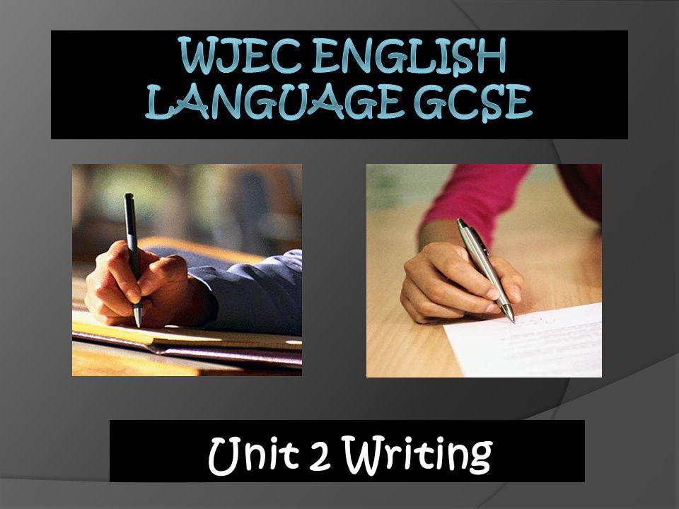 wjec english language gcse coursework