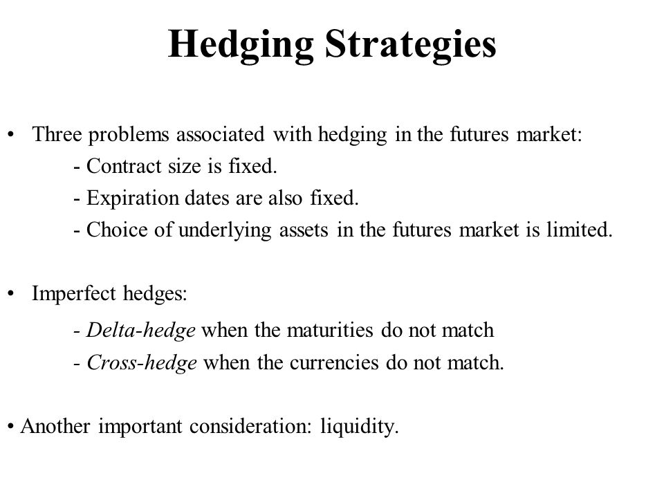 Hedging Strategies - Delta-hedge when the maturities do not match