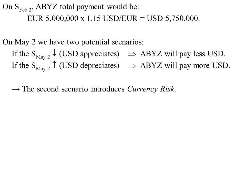 On SFeb 2, ABYZ total payment would be: