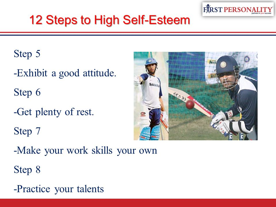 12 Steps to High Self-Esteem