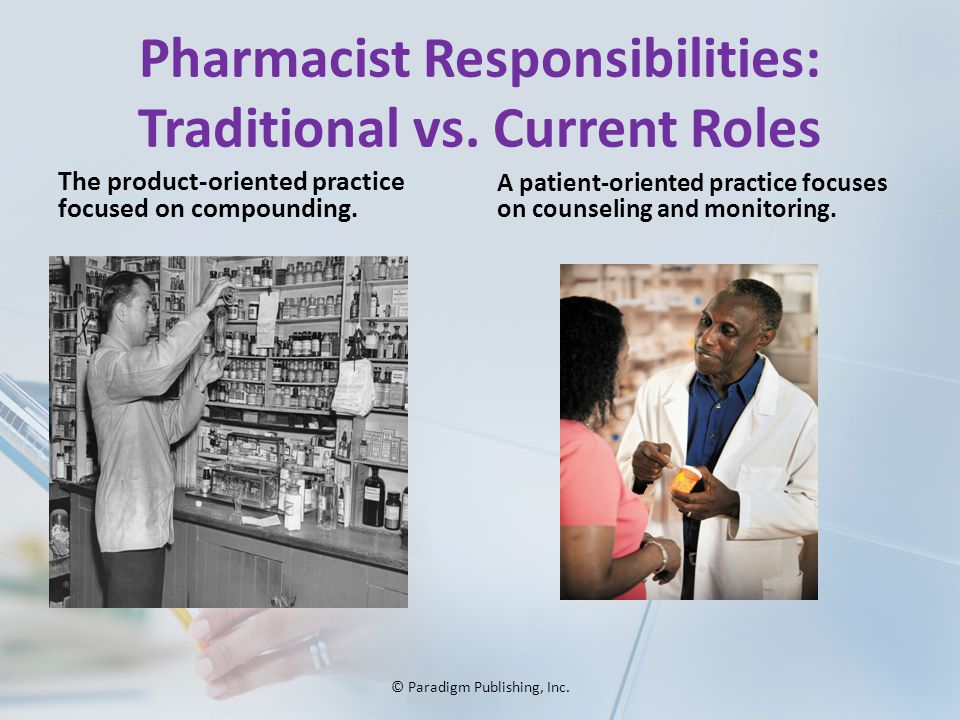 What does a pharmacist do?