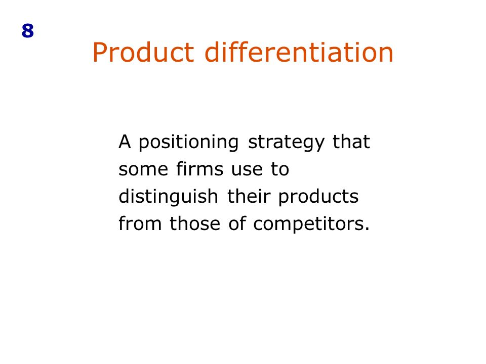 levis differentiation strategy Fied three generic types of strategy – overall cost leadership, differentiation and   this to be a difficult exercise, something that levi's learned in the 1990s (see.