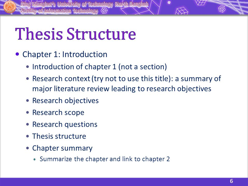 Thesis chapter 1 introduction