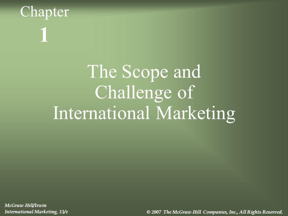 scope of international marketing pdf
