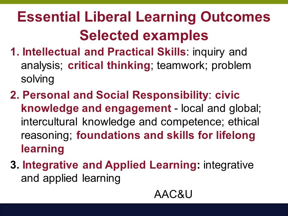 student learning outcomes critical thinking skills Exploring learning outcomes, benefits, and to what extent do students develop critical thinking skills/higher order thinking skills as outcomes of their.