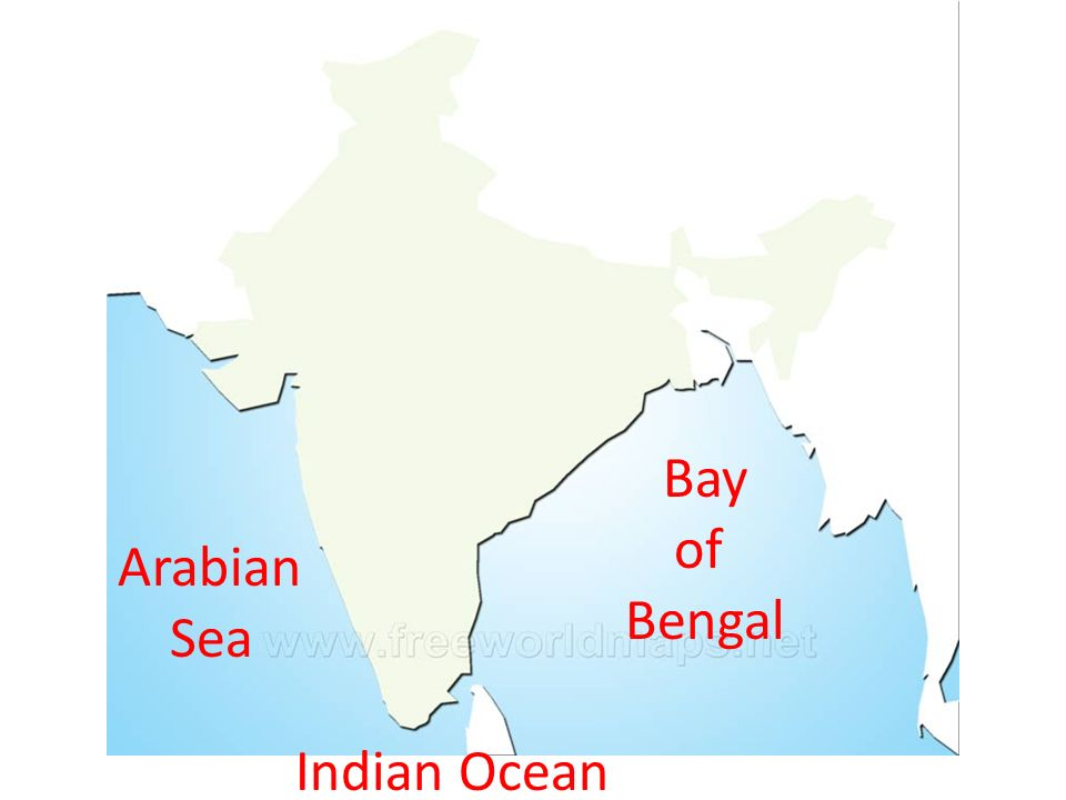 where do arabian sea and bay of bengal meet