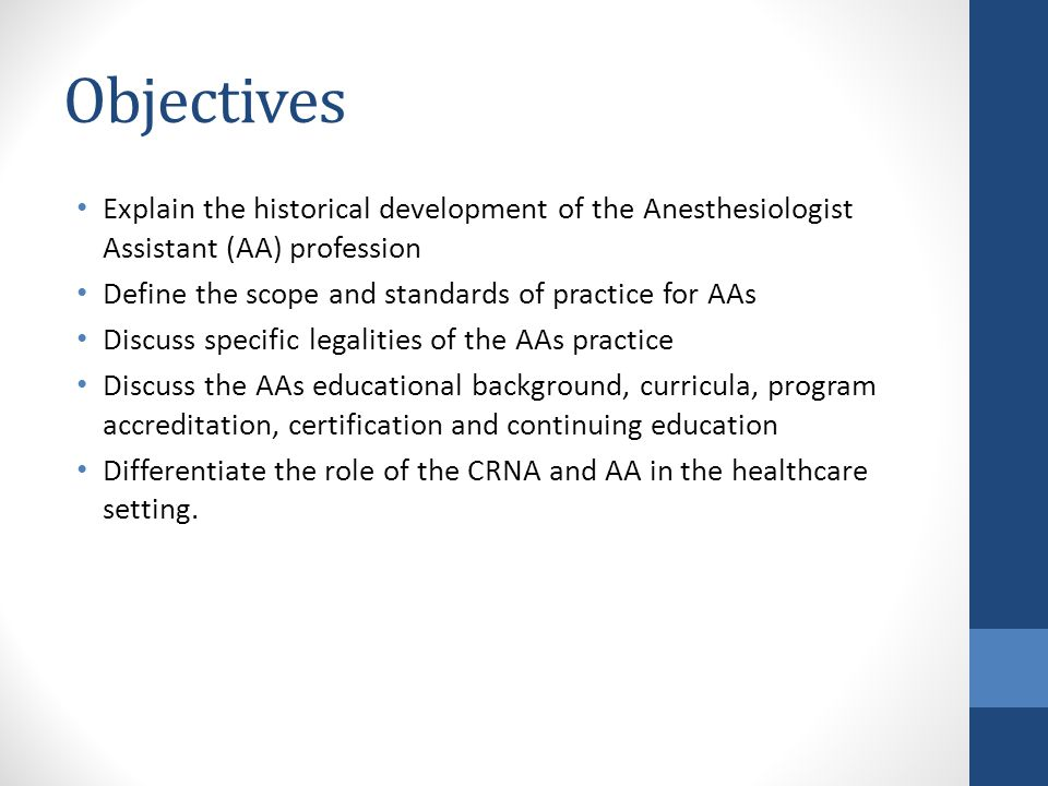 Anesthesiologist Assistant Education Image Collections Human