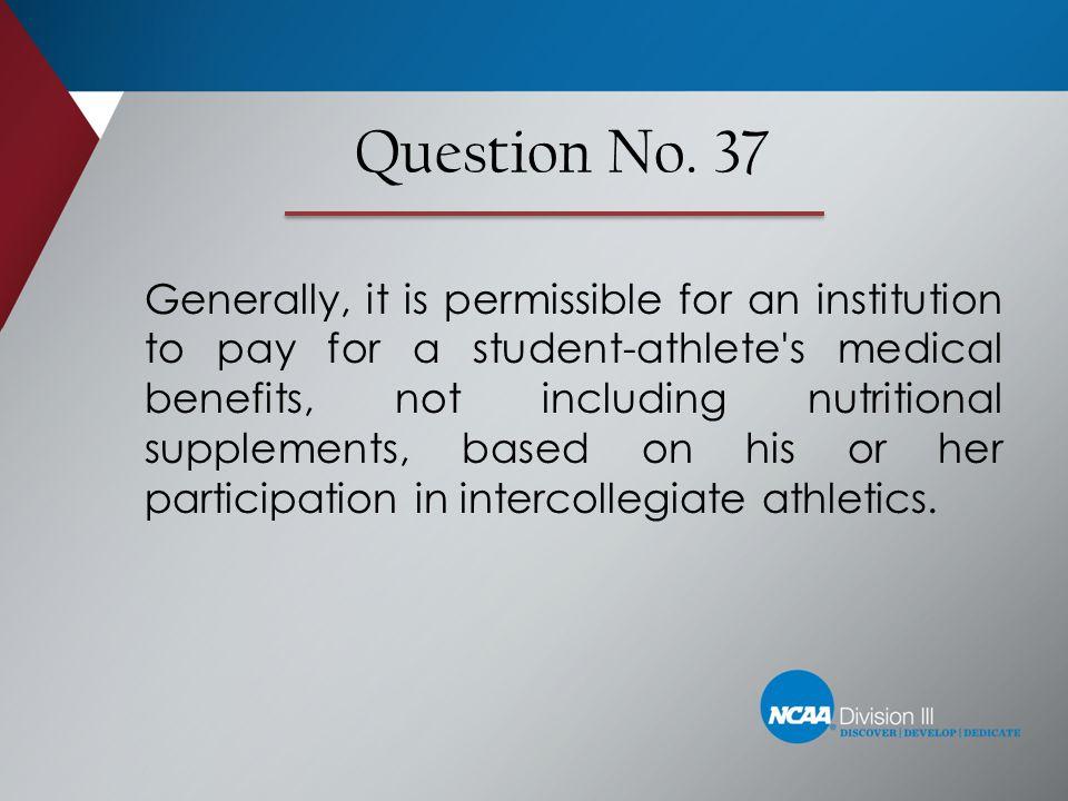 Question No. 37