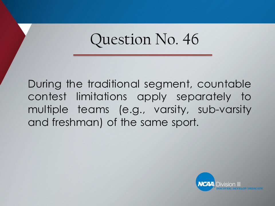 Question No. 46