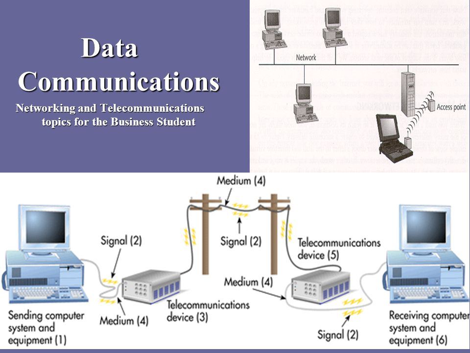 Networking And Telecommunications Topics For The Business Student