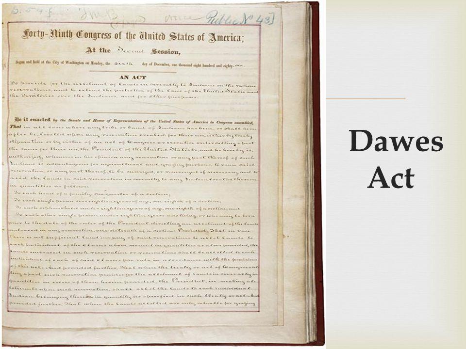 dawes law