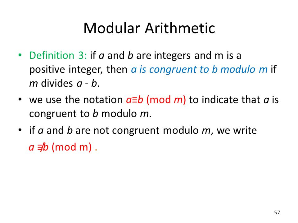 solution modular arithmetic and chapter Chapter 3 modular arithmetic the theory of congruences is perhaps the reason that elementary number theory has become a modern systematic discipline as.