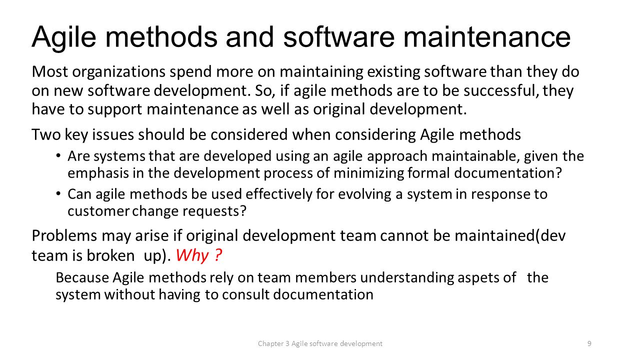Software Engineering — Software Process and Software Process Models (Part 2)