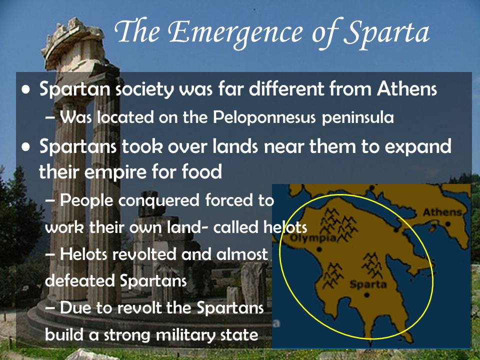 The Emergence of Sparta