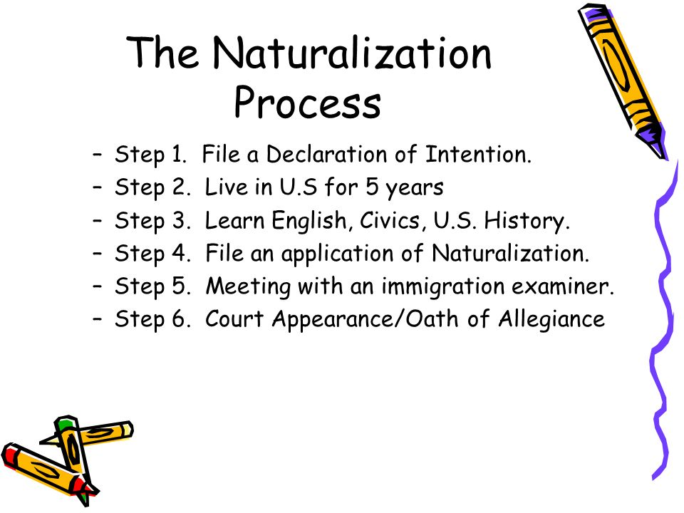 description of the us citizenship process As part of the process, you will be given citizenship test during interview passing the citizenship test is the only way to become a us citizen.
