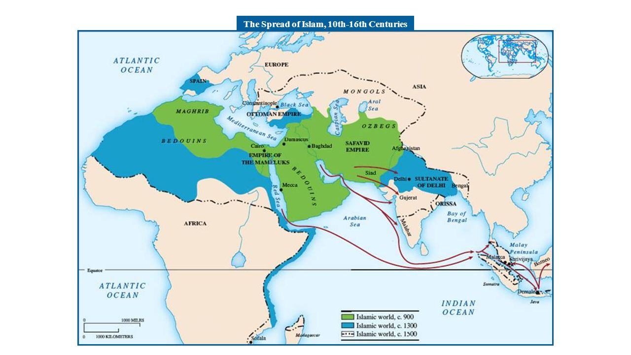 the spread of islamic civilization in history