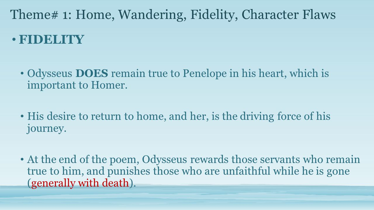 the virtues and flaws of odysseus a homeric hero Get an answer for 'based on homer's characterization of odysseus, what are the  virtues of a hero in the odyssey' and find homework help for other the.