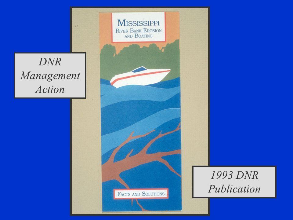DNR Management Action 1993 DNR Publication